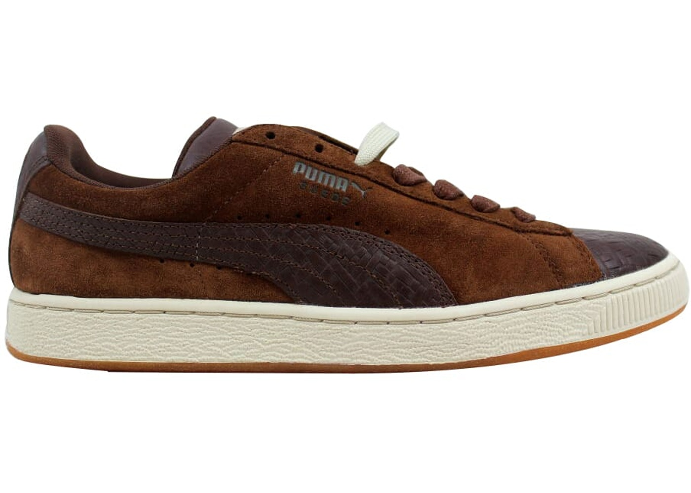the best attitude f3600 b3708 Puma Suede Classic + Herringbone Cappuccino Brown