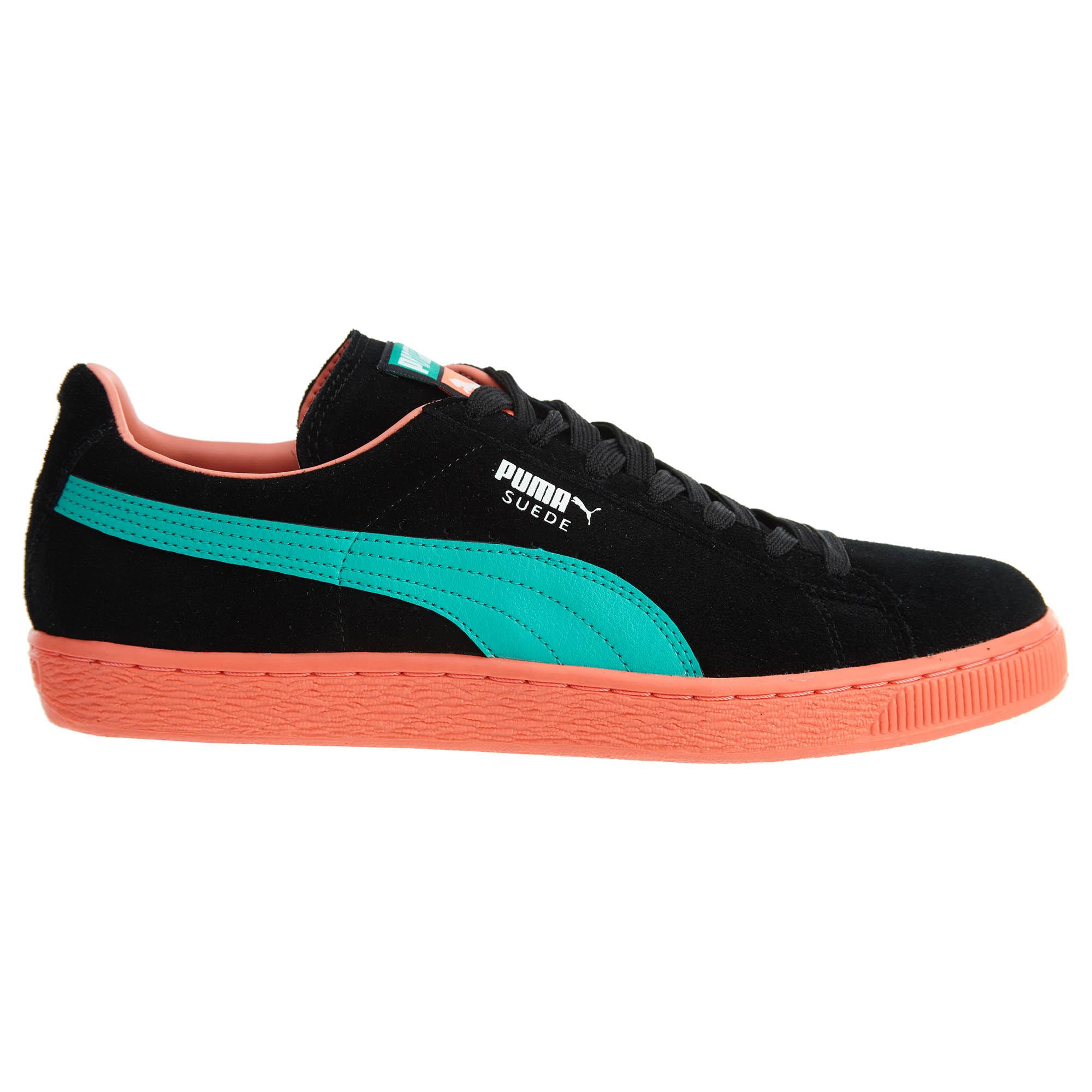 Puma Suede Classic Lfs Black/Fluo Teal