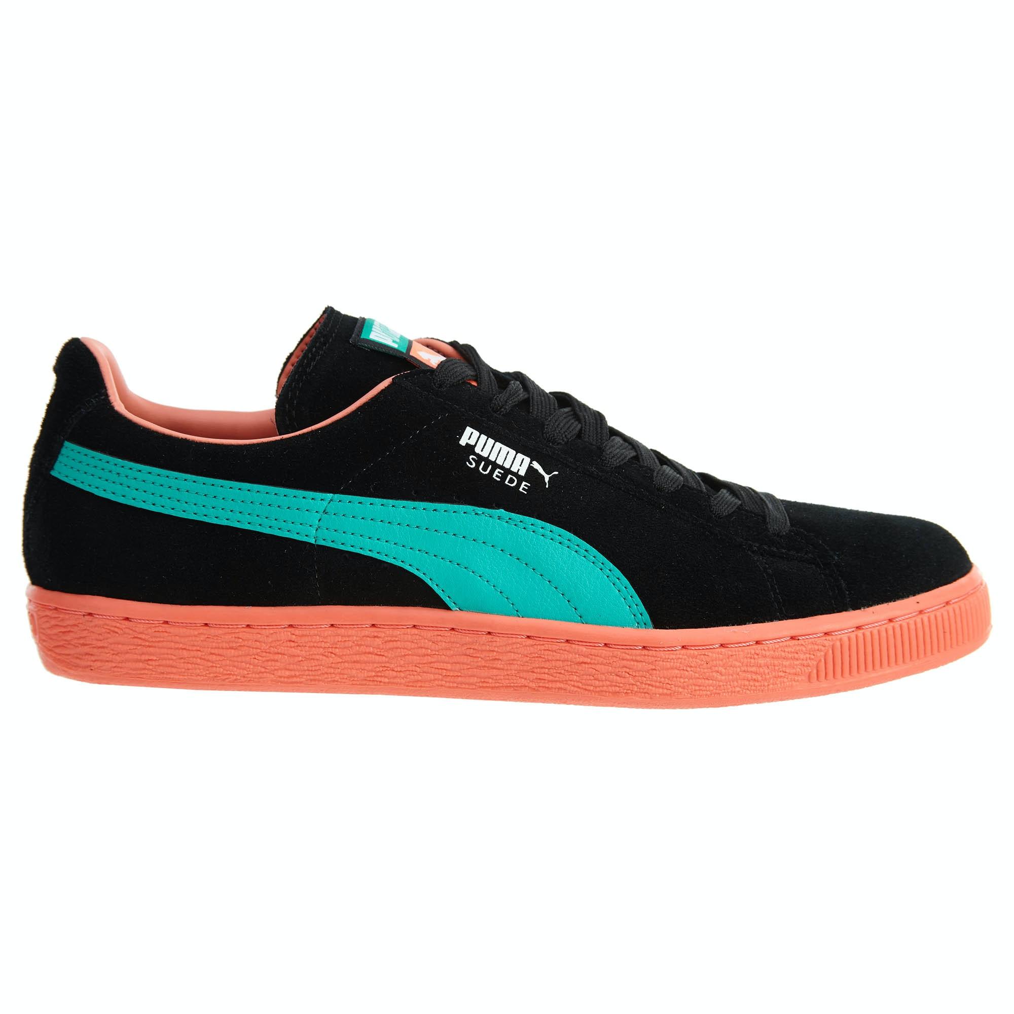 Puma Suede Classic Lfs Black/Fluo Teal/Fluo Peach