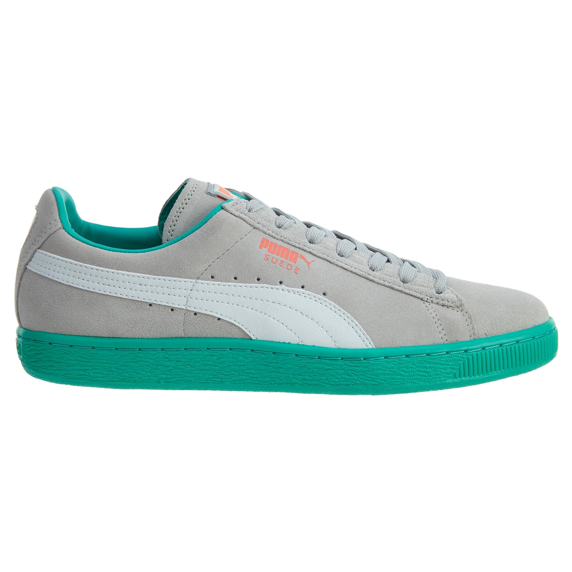 Puma Suede Classic + Lfs Grey Violet-White-Fluo Teal