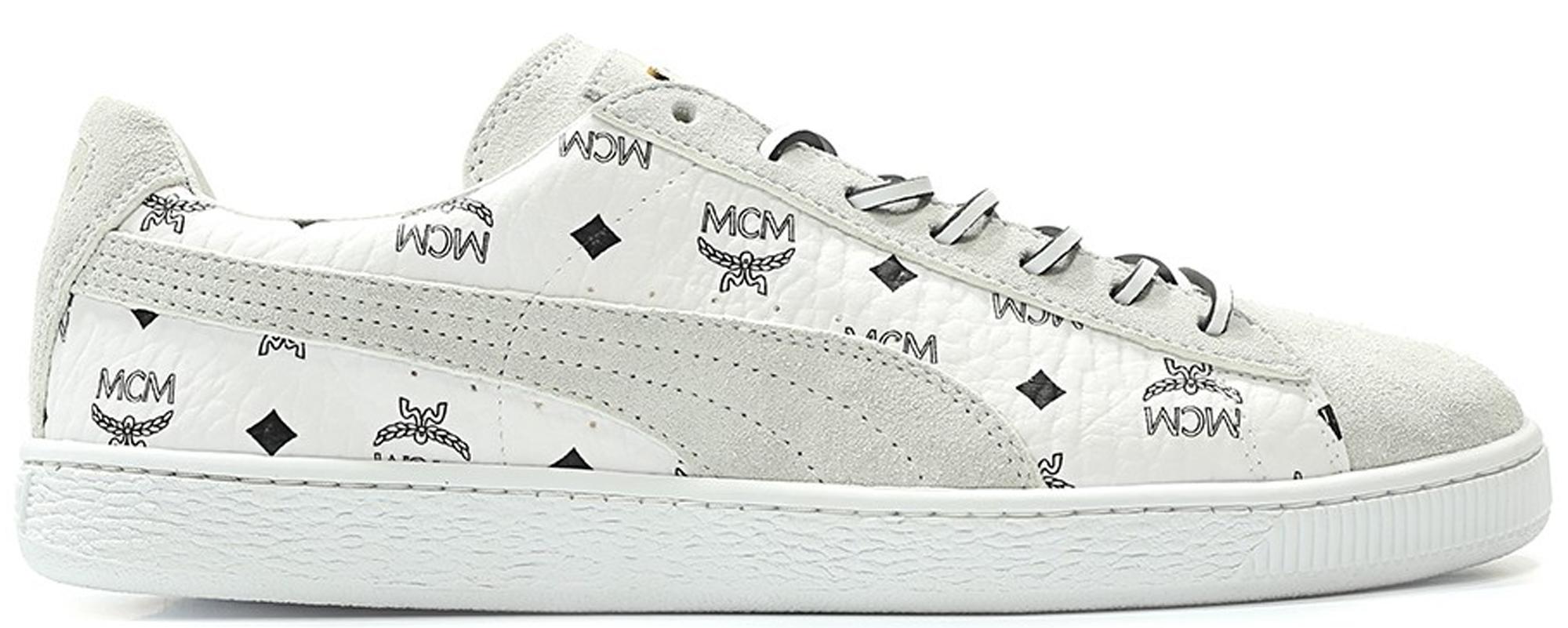 Puma Suede Classic MCM (White)