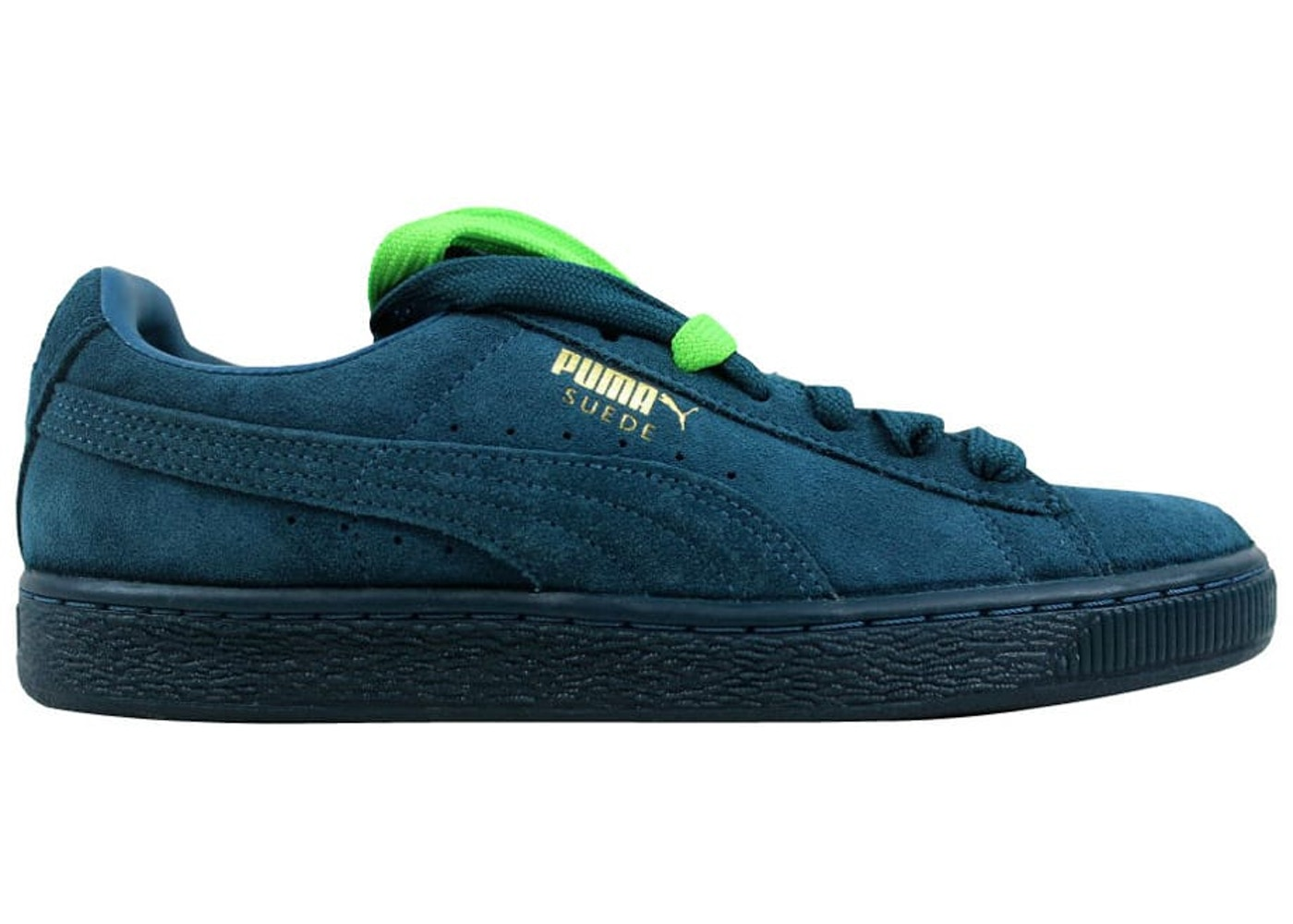 timeless design 689a9 f9f69 Puma Suede Classic + Mono Iced Blue Coral