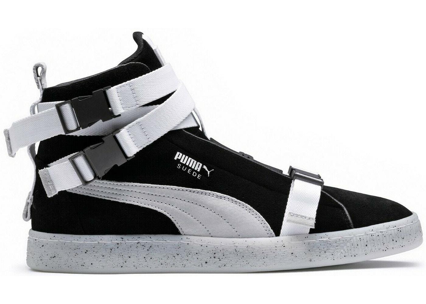 a065e128773af5 Puma Suede Classic The Weeknd Black White - 366310-03