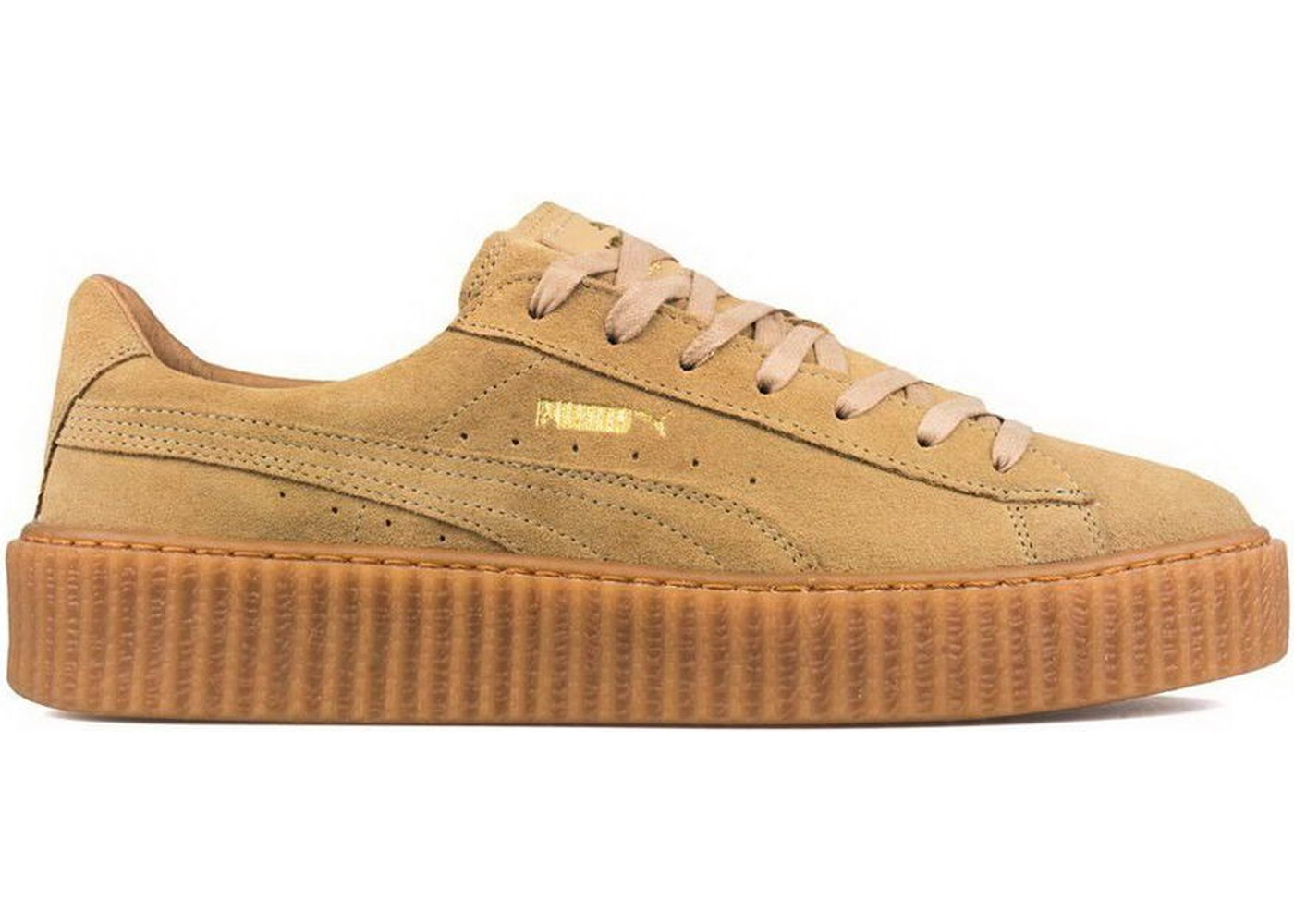 large discount 50-70%off up-to-datestyling Puma Suede Creeper Rihanna Fenty Oatmeal