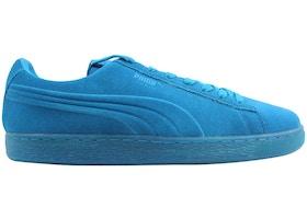 wholesale dealer 749c8 4e54d Puma Suede Emboss Iced Fluo Atomic Blue