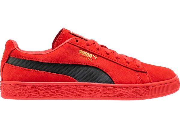 super popular 5313c 5bad2 Puma Suede Ferrari Rosso Corsa