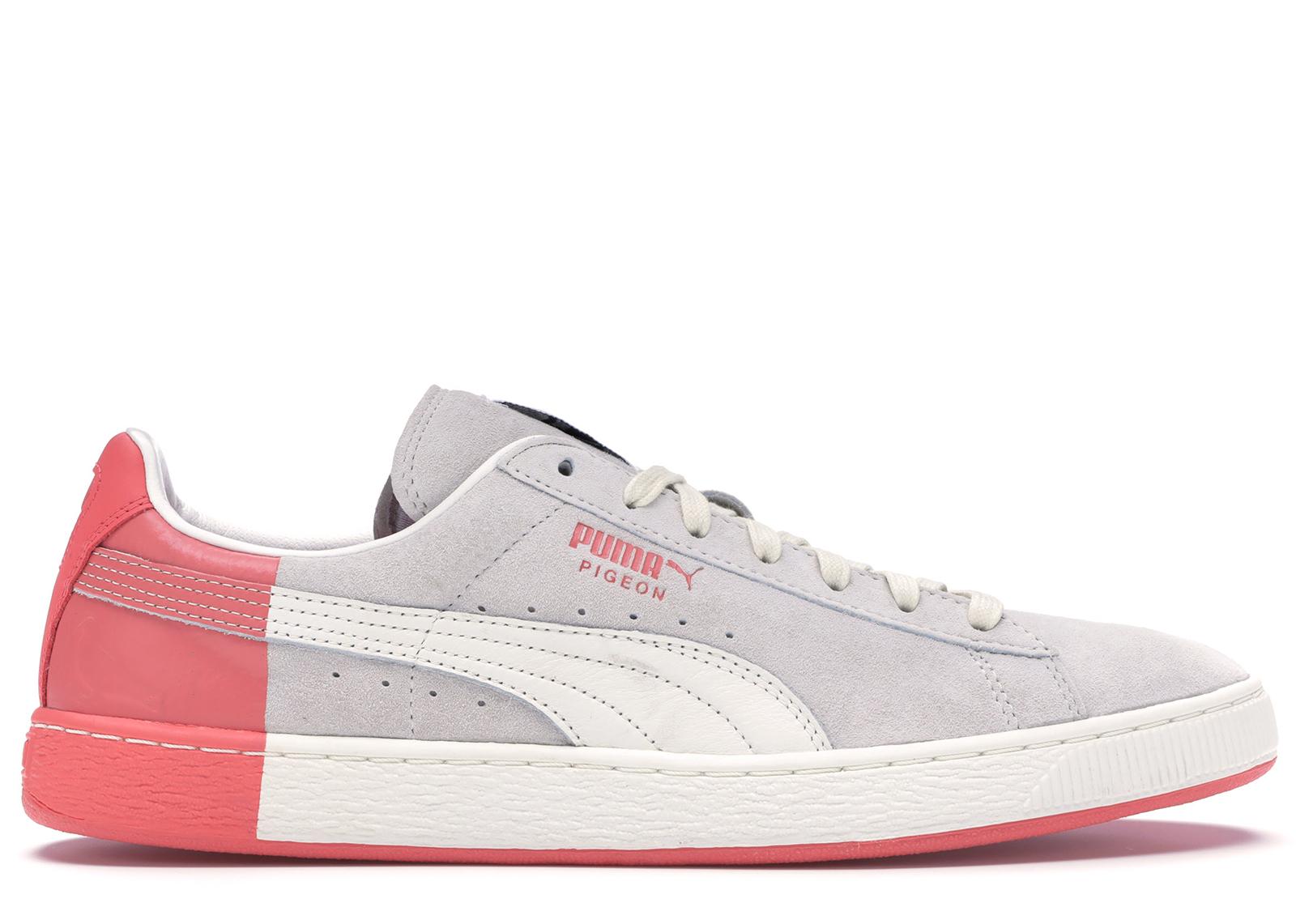 Puma Suede White Staple Pigeon - 361617-01