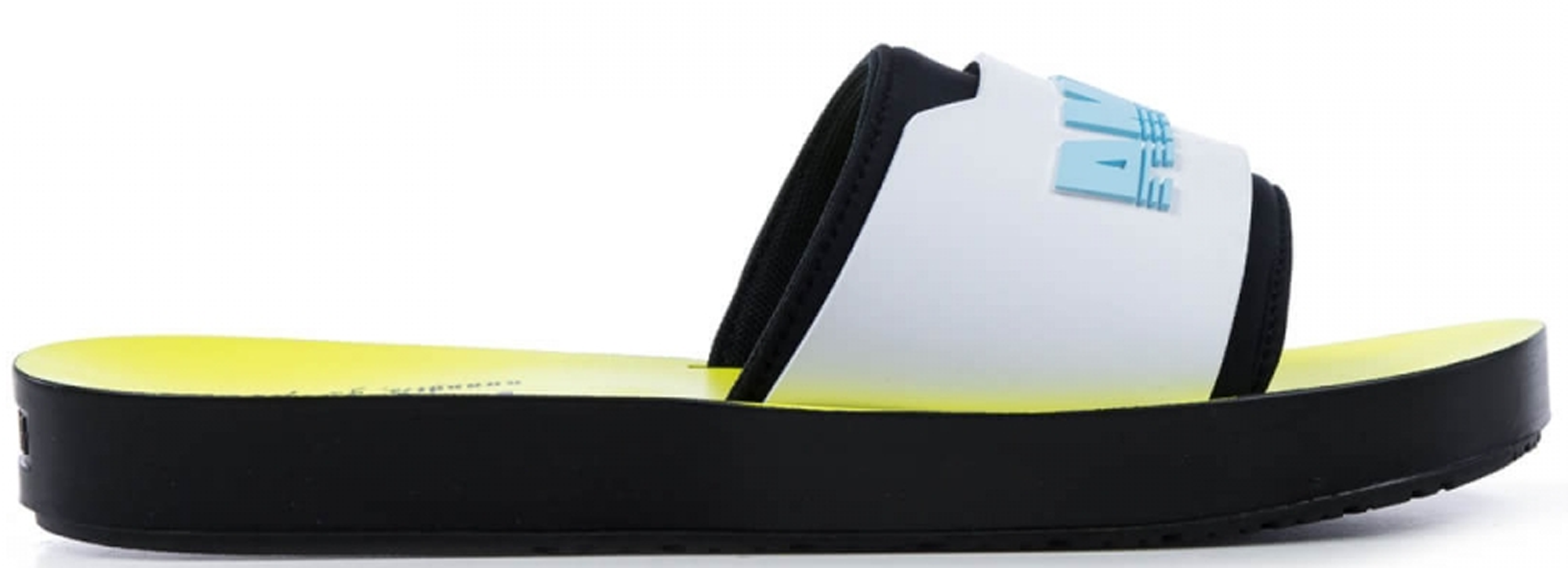 Puma Surf Slide Rihanna Fenty Black White Yellow (W)