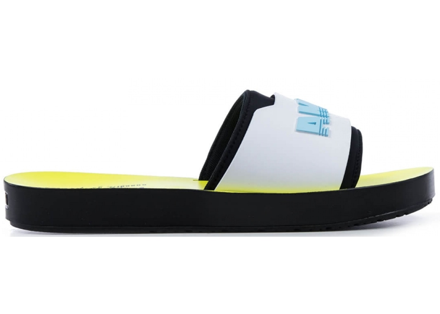 Puma Surf Slide Rihanna Fenty Black White Yellow (W) - 367747-02 82e8cefdc378