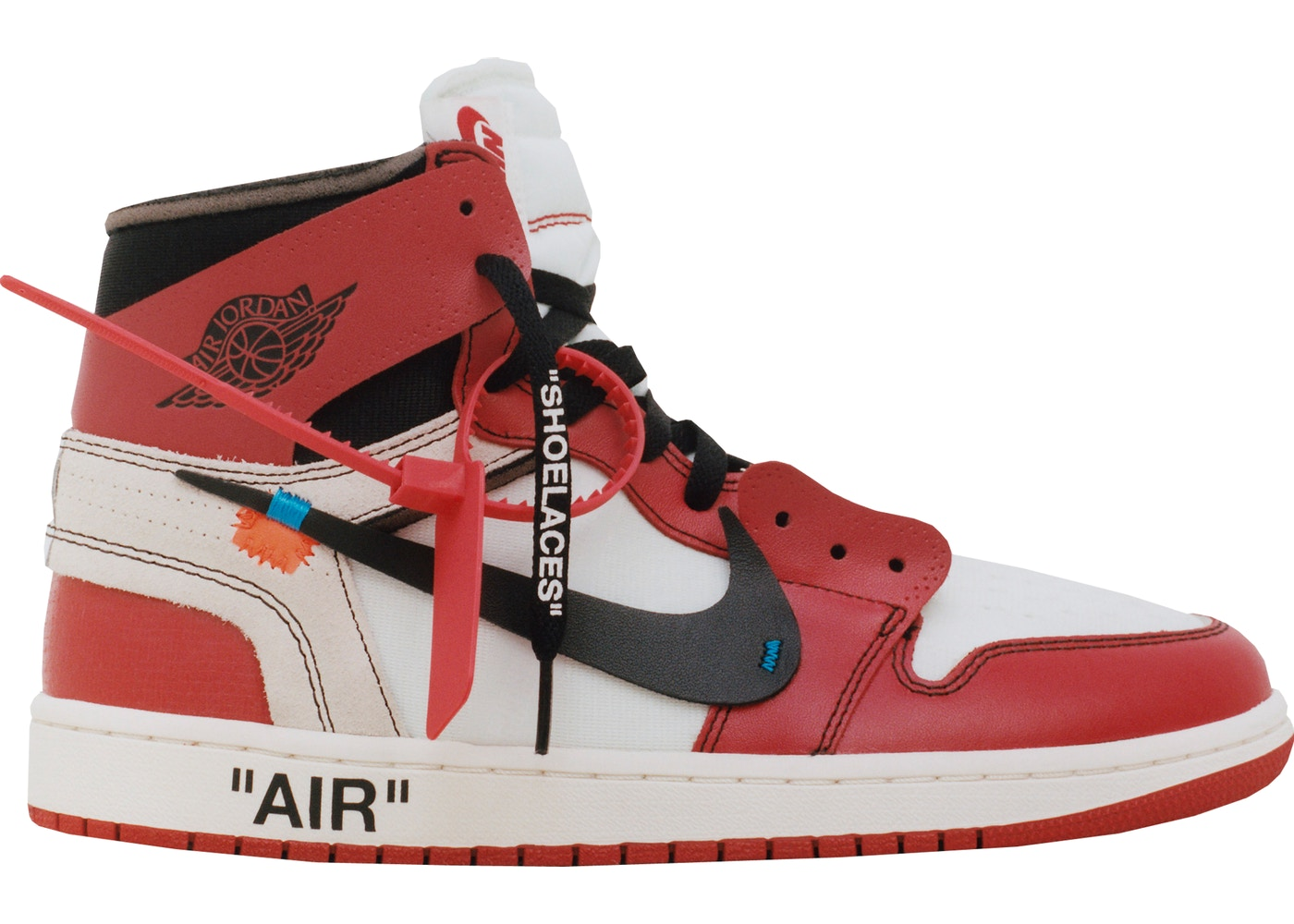 Re-StockX Promo Jordan 1 Retro High Off-White Chicago - AA3834-101 bbb8947a5f