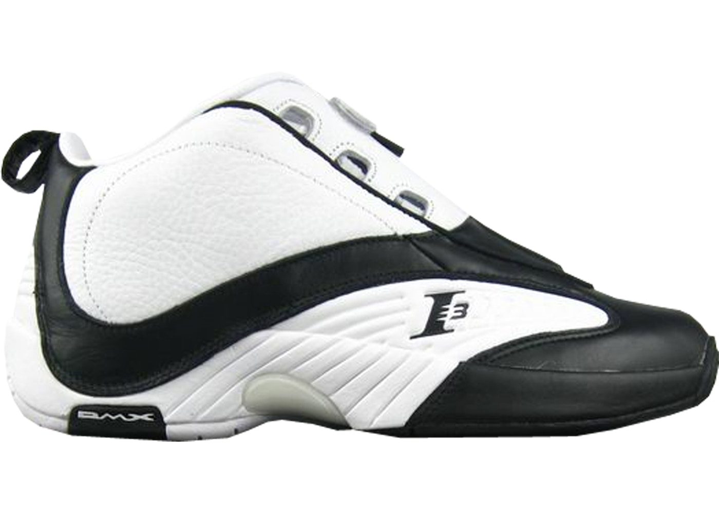 separation shoes best sell skate shoes Reebok Answer IV White Black (2012)