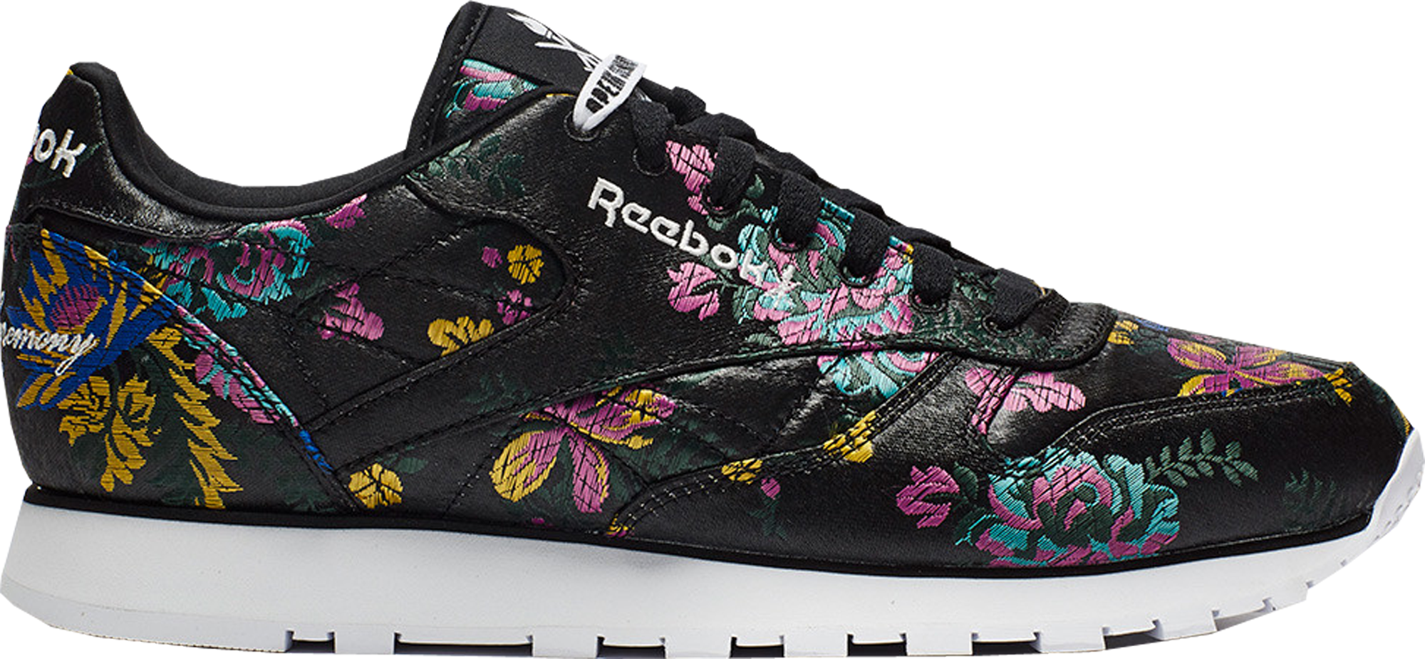 Reebok Classic Leather Opening Ceremony Floral Satin Black