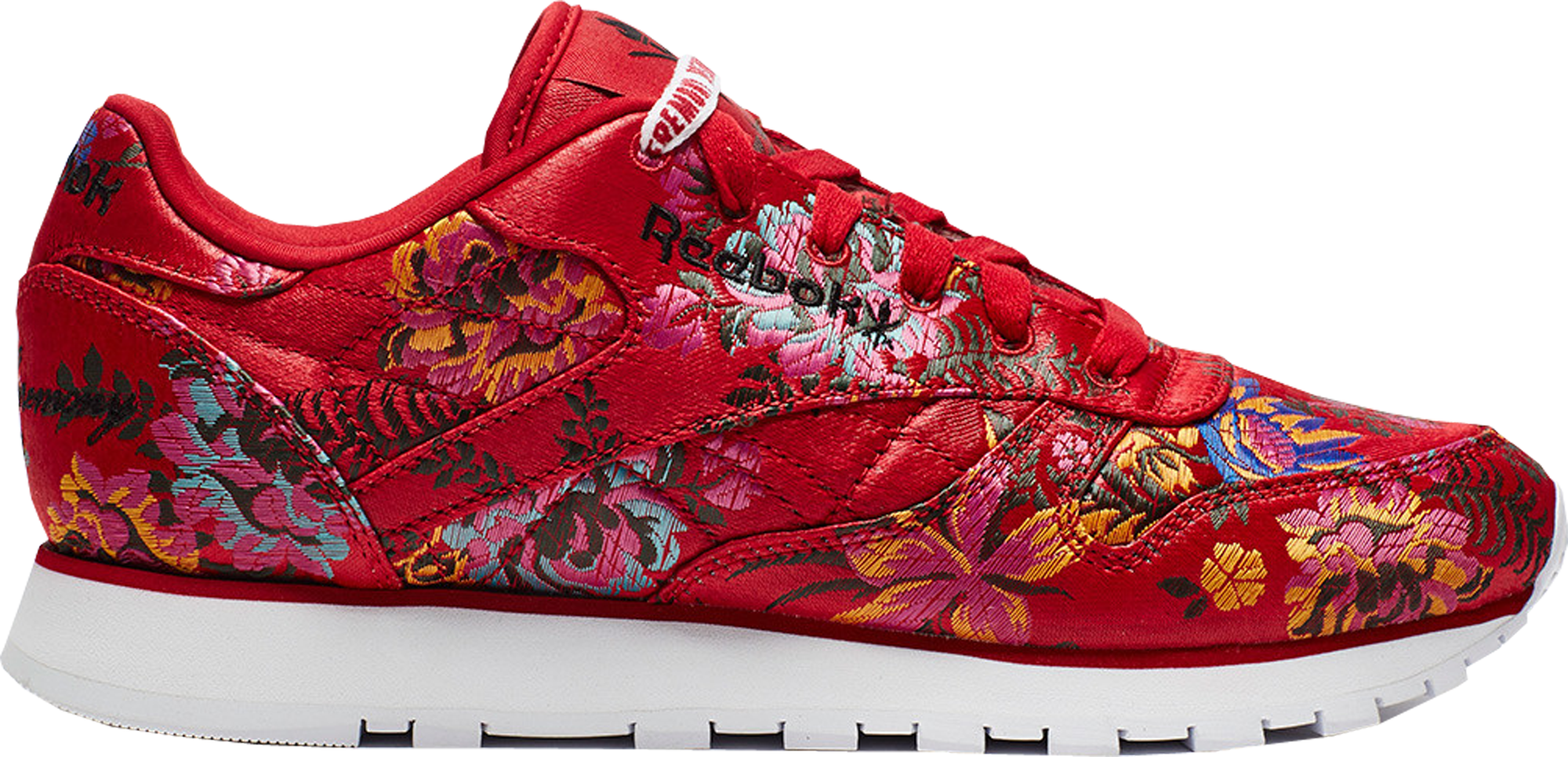 Reebok Classic Leather Opening Ceremony Floral Satin Red