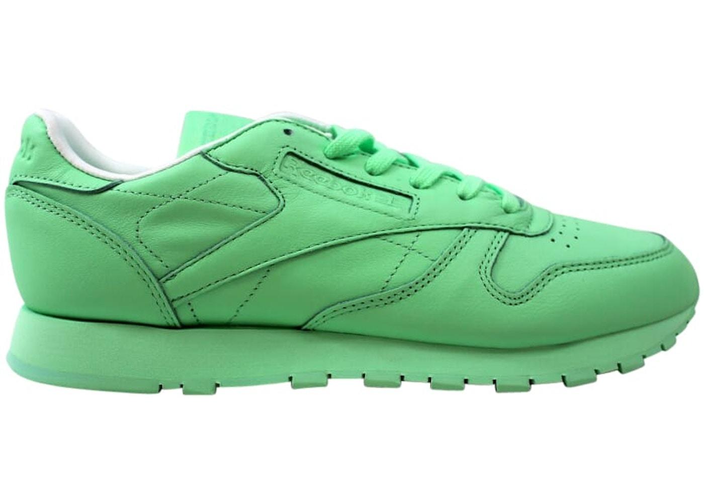 Hija ven transferencia de dinero  Reebok Classic Leather Pastels Mint Green (W) - BD2773
