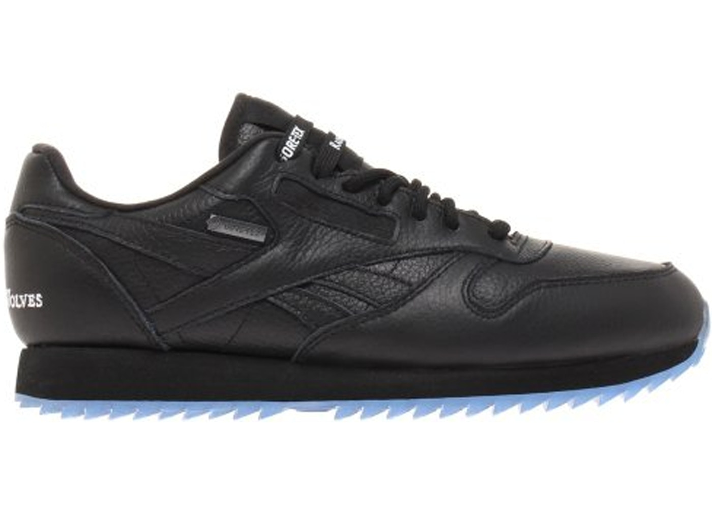 official online shop exquisite design Reebok Classic Leather Ripple Raised By Wolves Black