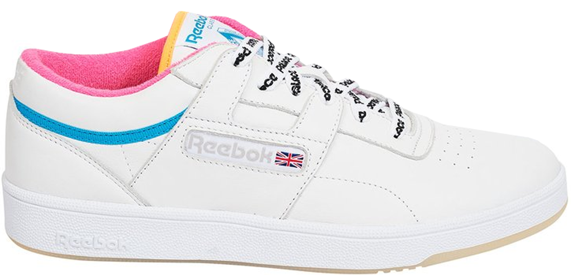 reebok white club