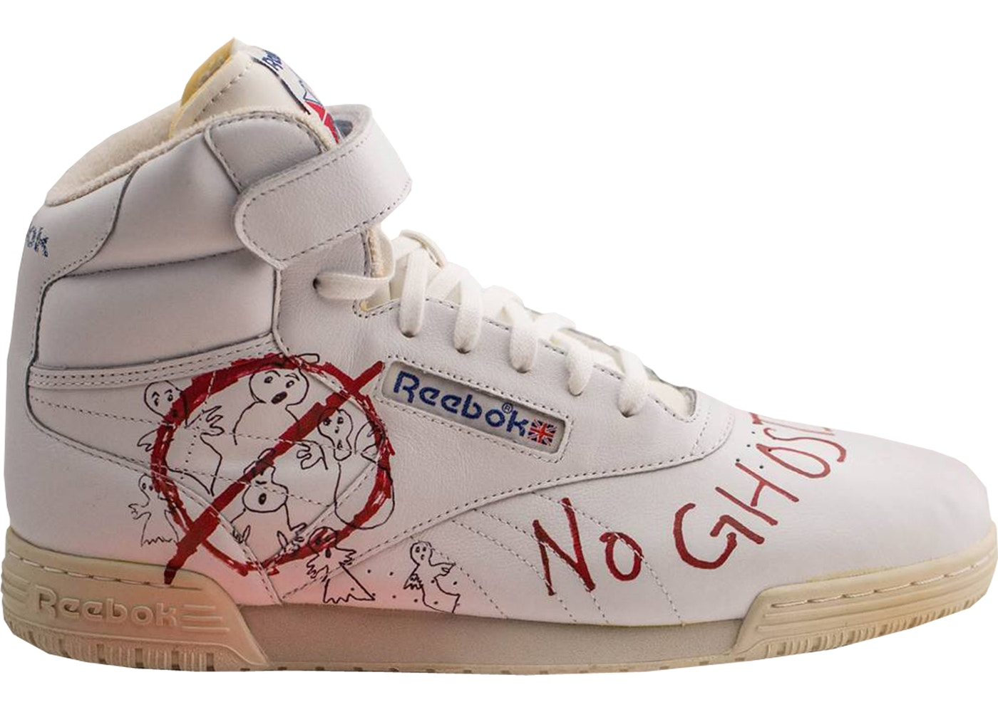 Reebok Ex-O-Fit Clean Hi Bait x Ghostbusters x Stranger Things ... d3ff72eed