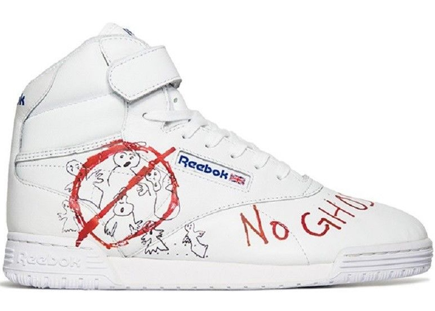 78d04754e4c9 Reebok Ex-O-Fit Clean Hi Bait x Ghostbusters x Stranger Things - CN3570