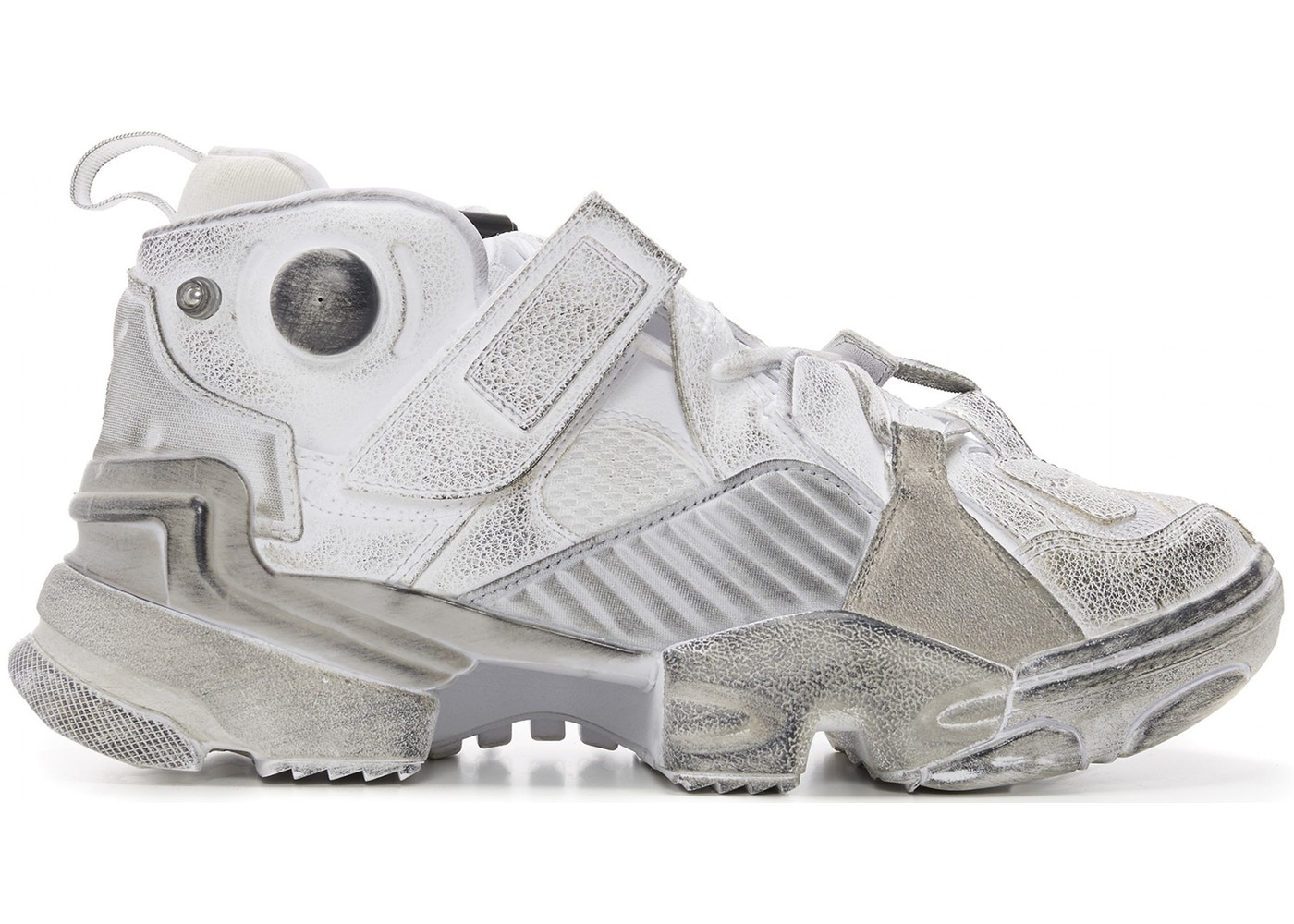 Sell. or Ask. Size  10.5. View All Bids. Reebok Genetically Modified Pump  Vetements White c80bcd3d5