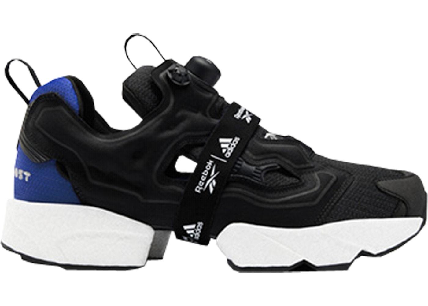 reebok pump fury all black
