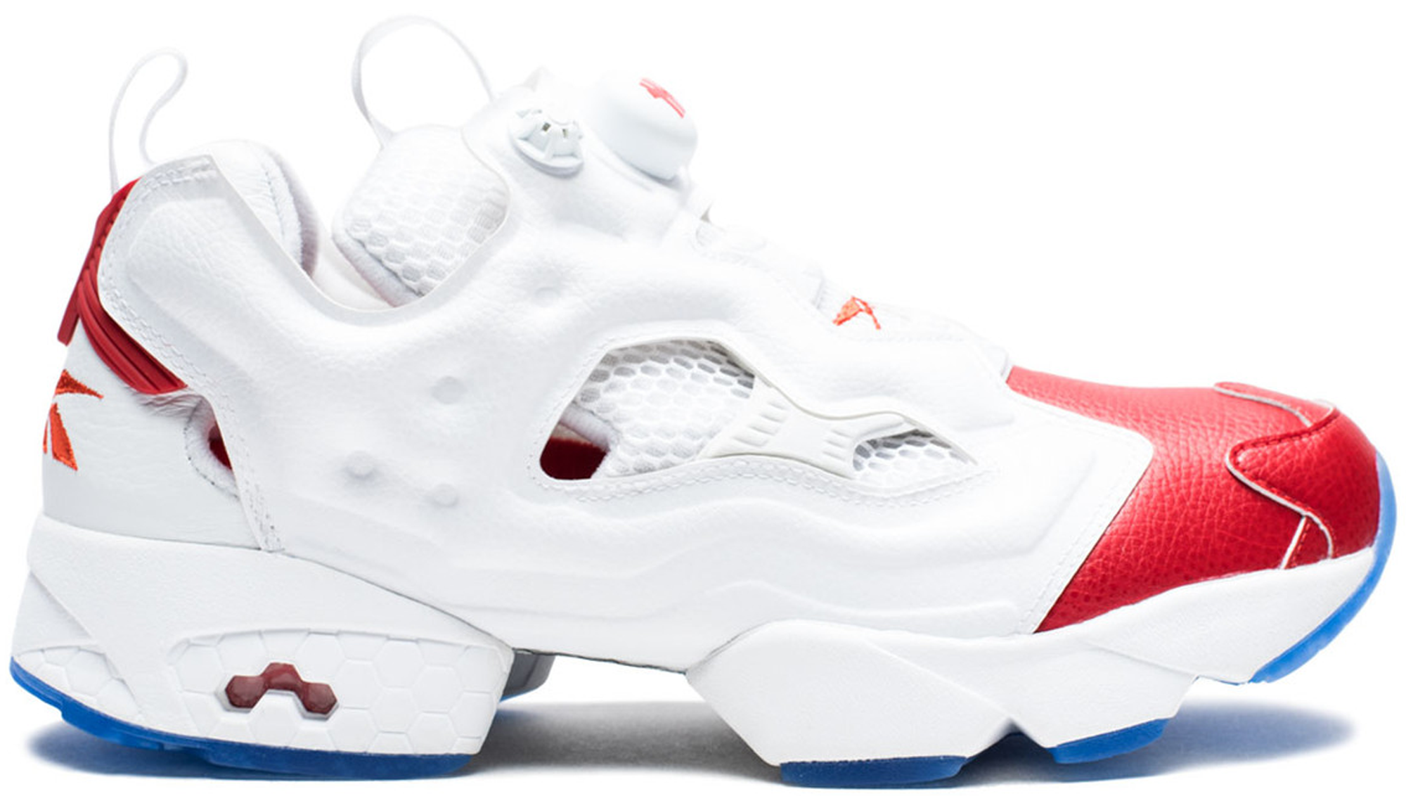 Reebok Instapump Fury Undefeated Iverson Red