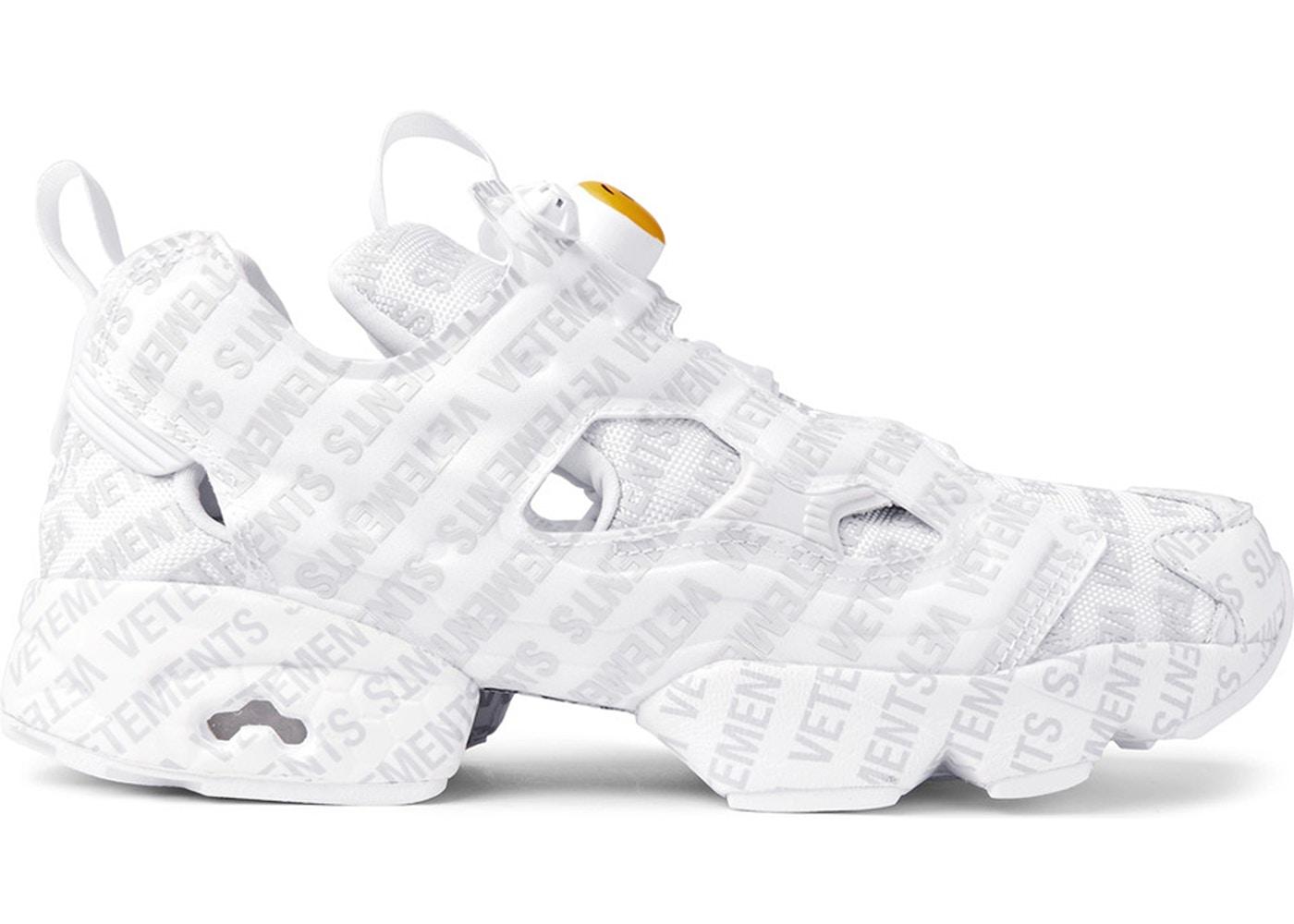 X Reebok Emoji Instapump Fury Sneakers VETEMENTS 8c9A6N