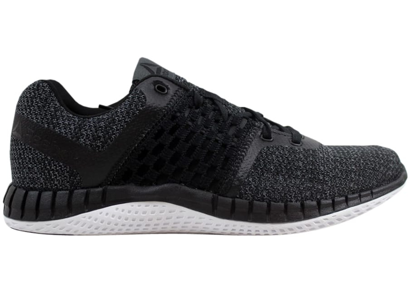 super popular 4756c 7c55f Reebok Print Run Ultraknit Black - BS7360