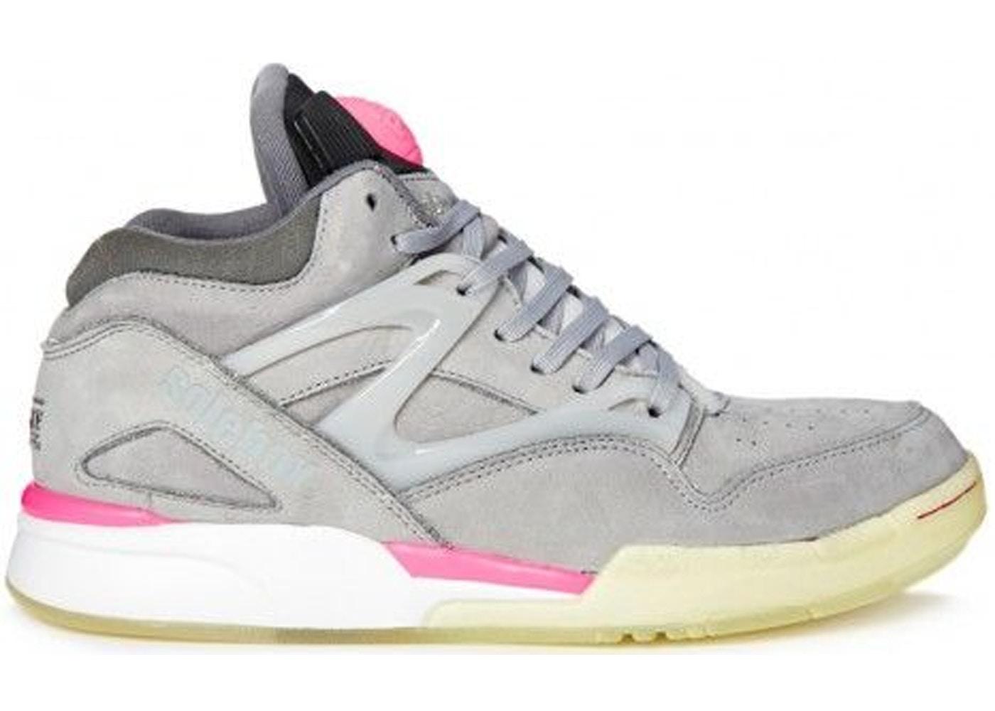 stor rabatt Storbritannien butik tankar på Reebok Pump Omni Lite Solebox Grey Pink - V54095