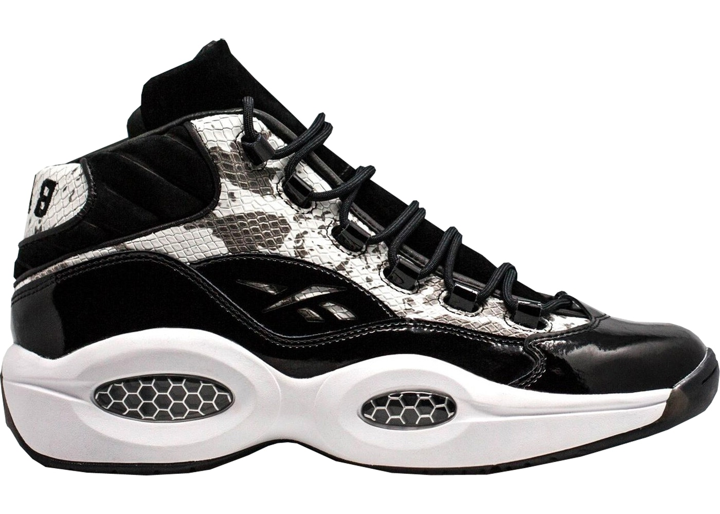 the latest 970ce 09376 Sell. or Ask. Size  12. View All Bids. Reebok Question Mid Bait Snake 2.0