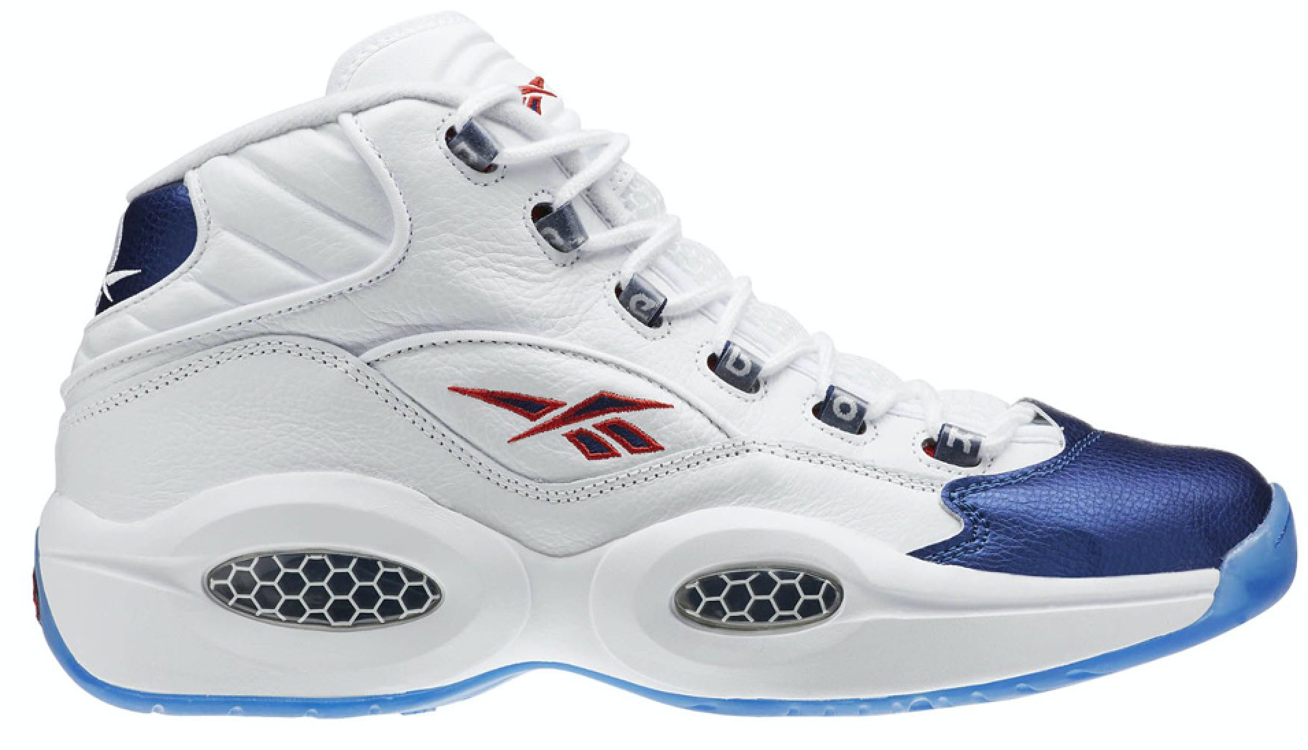 Reebok Question Mid Blue Toe 2016