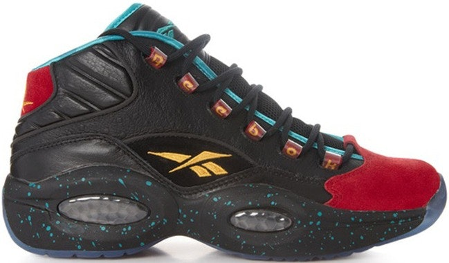 """Reebok Question Mid Burn Rubber """"Apollos Young"""""""