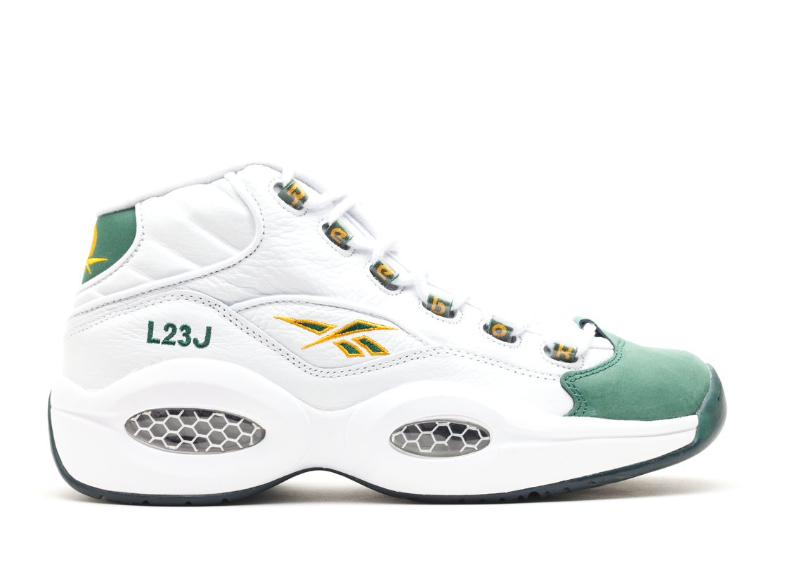 Reebok Question Mid Packer Shoes For Player Use Only LeBron