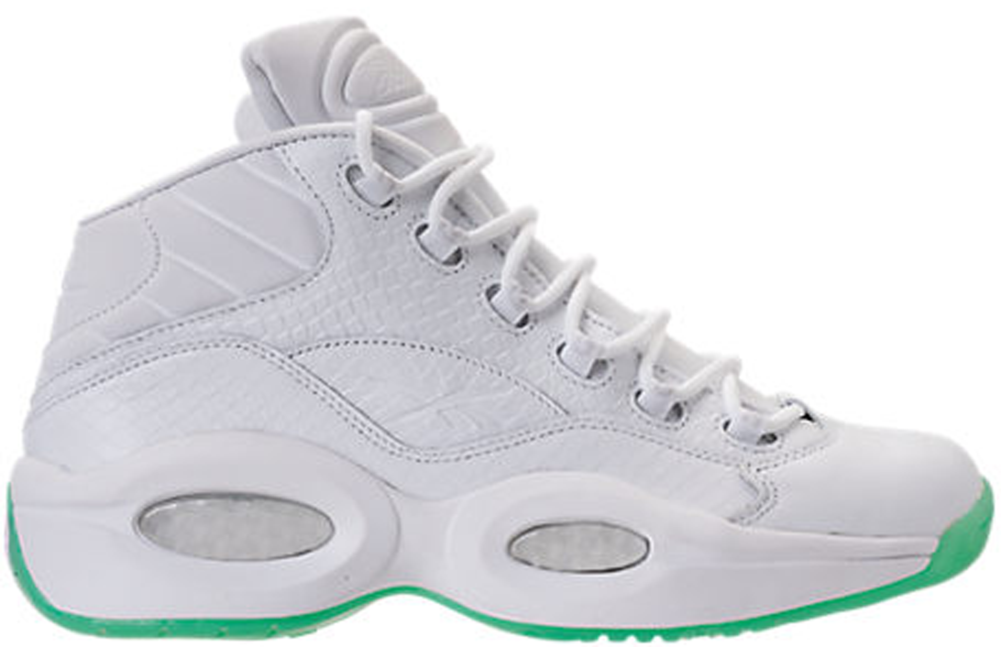 Reebok Question Mid White Mint Glow