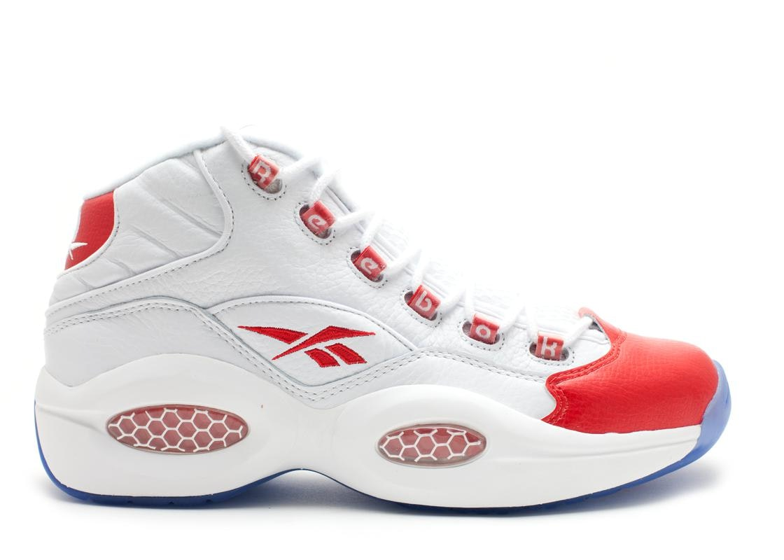 Reebok Question Mid Pearlized Red (2012)