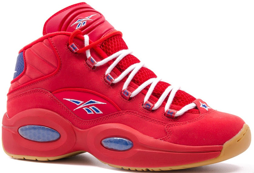 """Reebok Question Mid Packer Shoes """"Practice Pt. 2"""""""