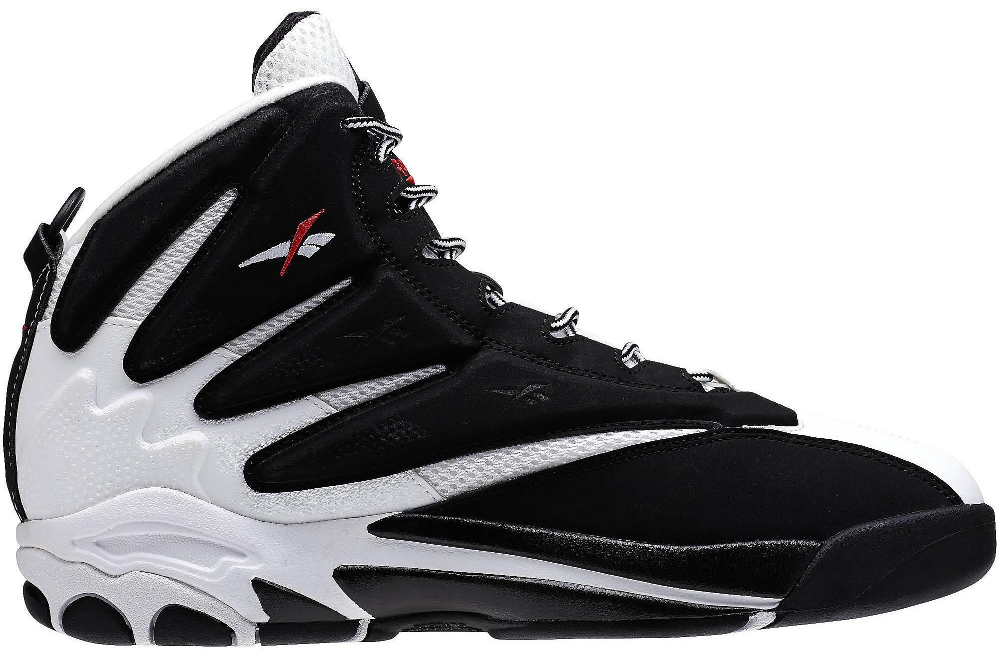 Reebok The Blast White Black Red