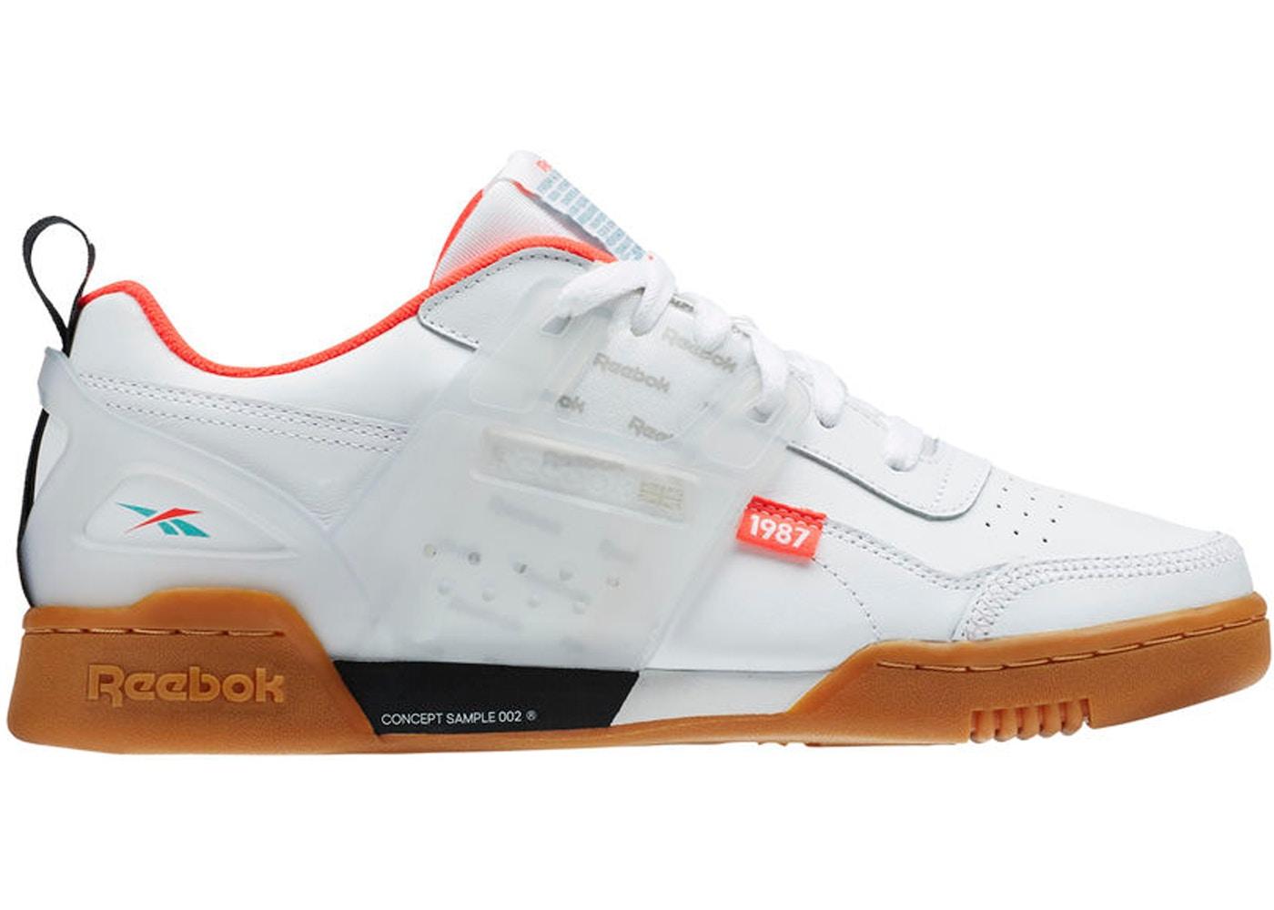 Pronunciar Bigote pago  Reebok Workout Plus Altered White Black Red Mist - DV5243