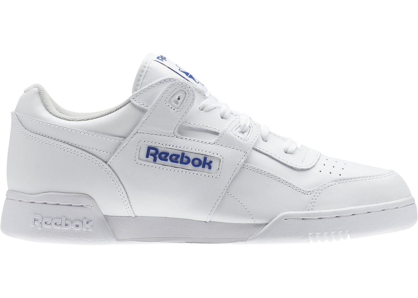 lowest price cb476 4995c Reebok Workout Plus White Royal