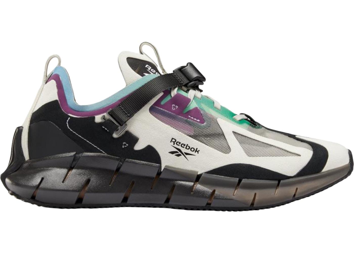 avance Mayor La oficina  Reebok Zig Kinetica Concept Type 1 White Black Purple Green - Sneakers