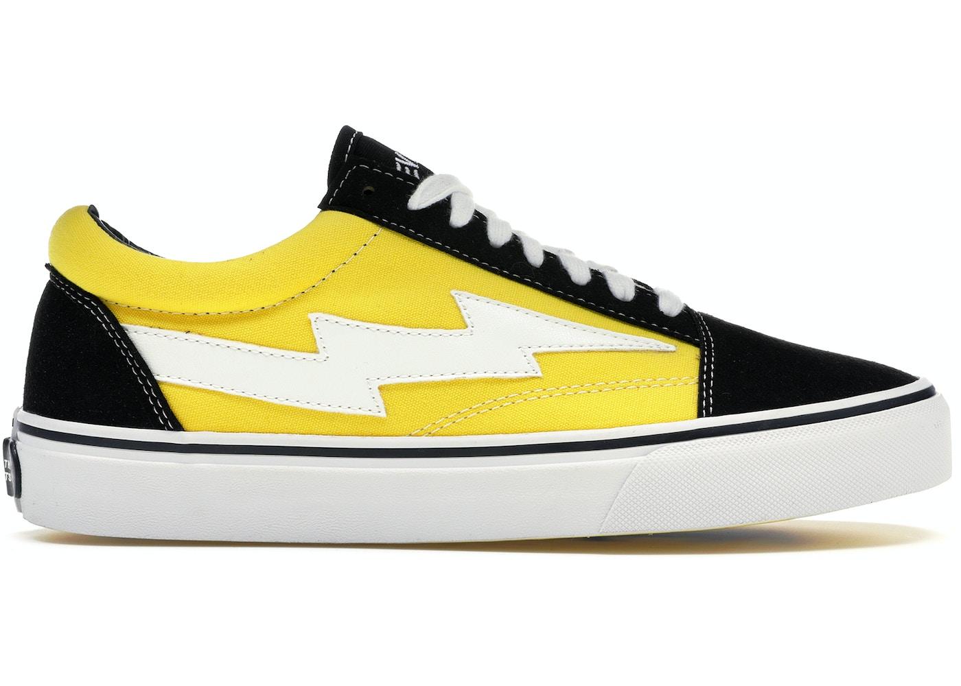 18340639044b39 Revenge X Storm Low Top Black Yellow - RS588977-004