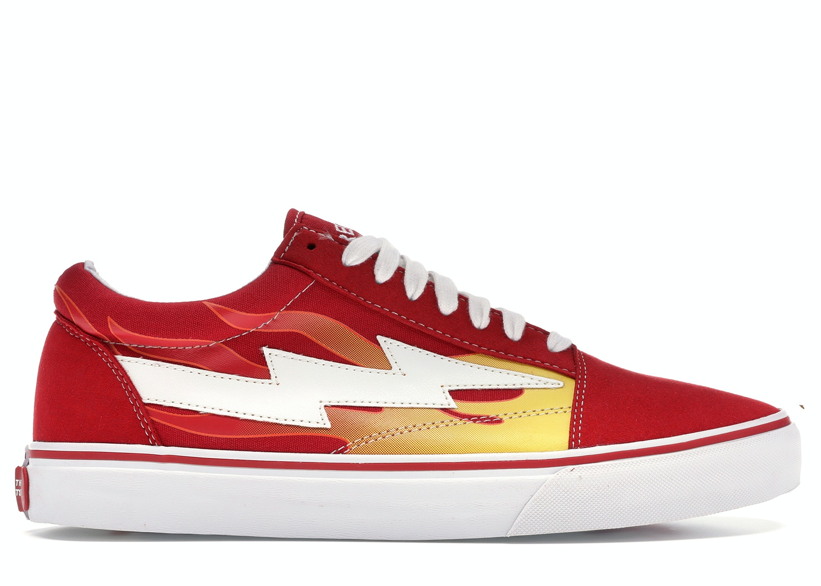 Revenge X Storm Low Top Red (with Flames)