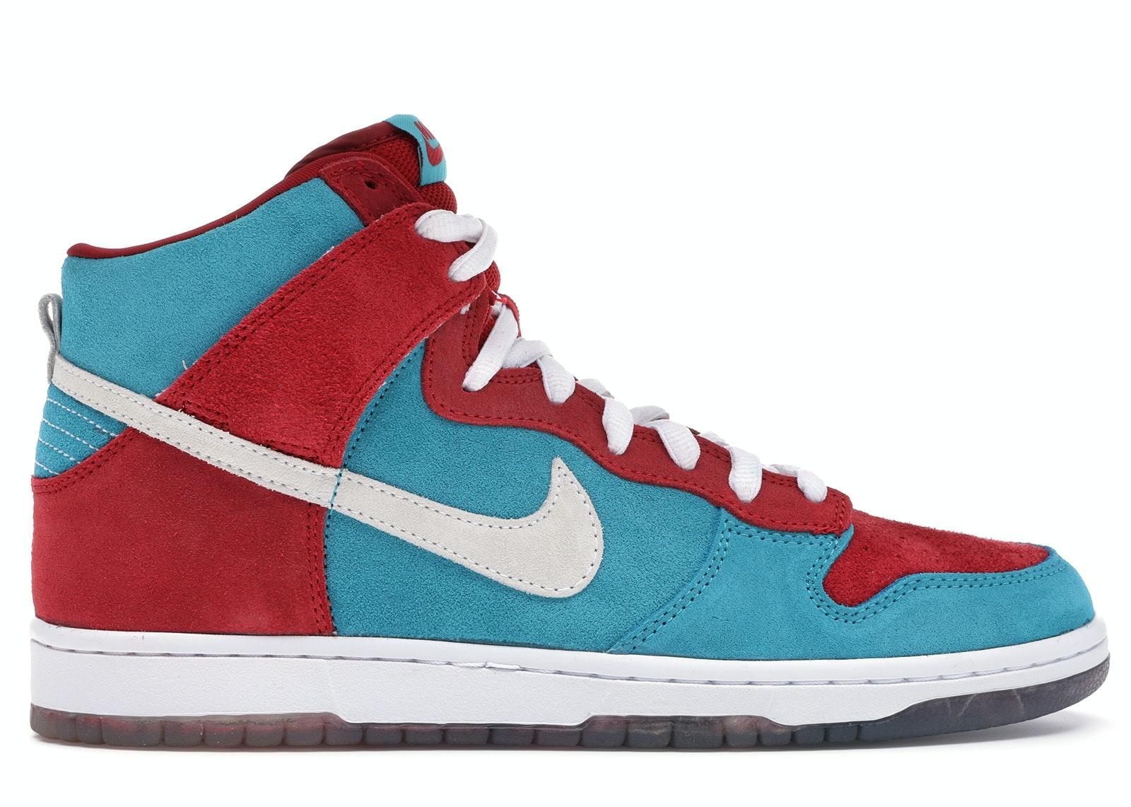 Nike SB Dunk High Bloody Gums