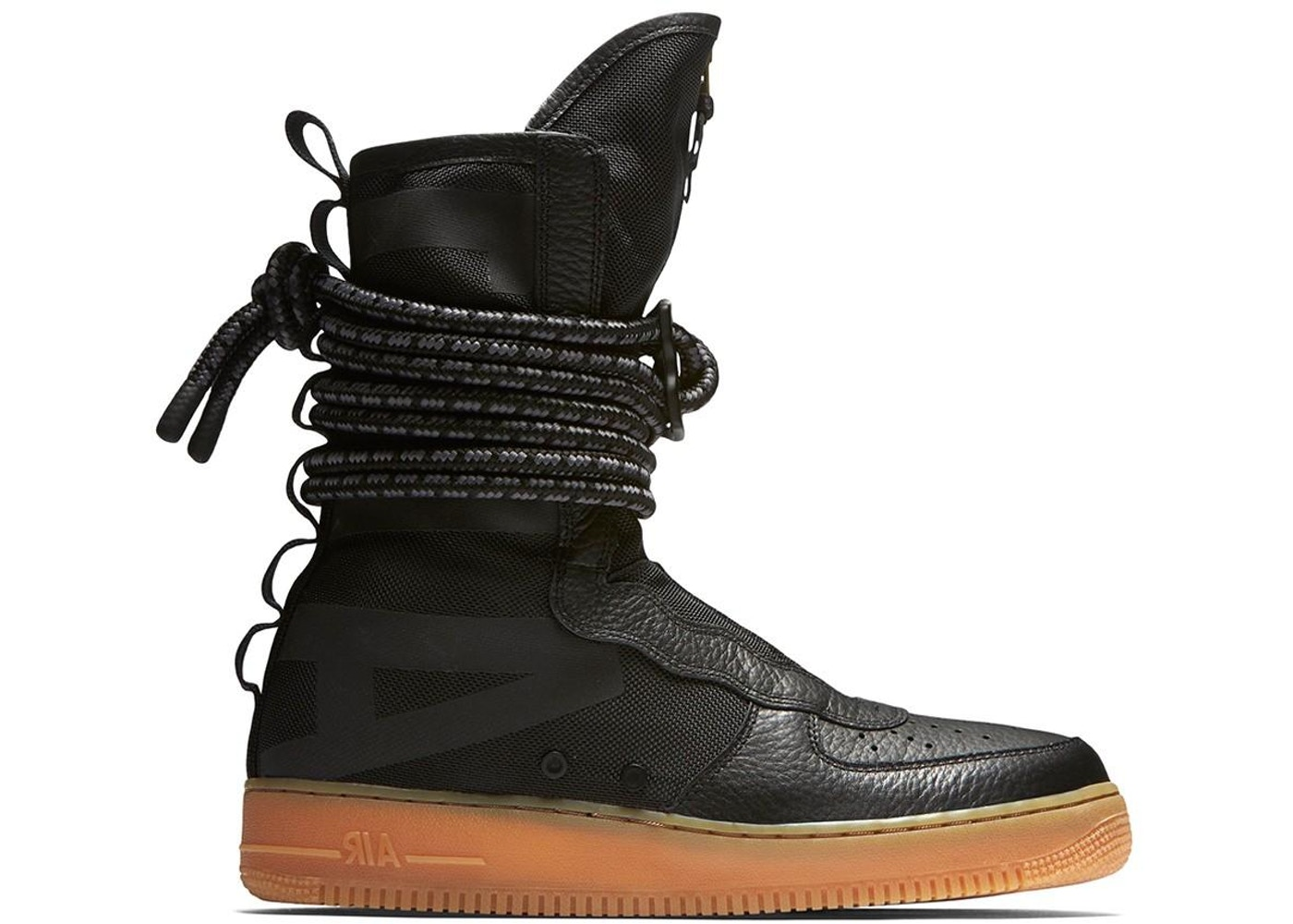 huge selection of 3eab2 4119b SF Air Force 1 High Black Gum - AA1128-001