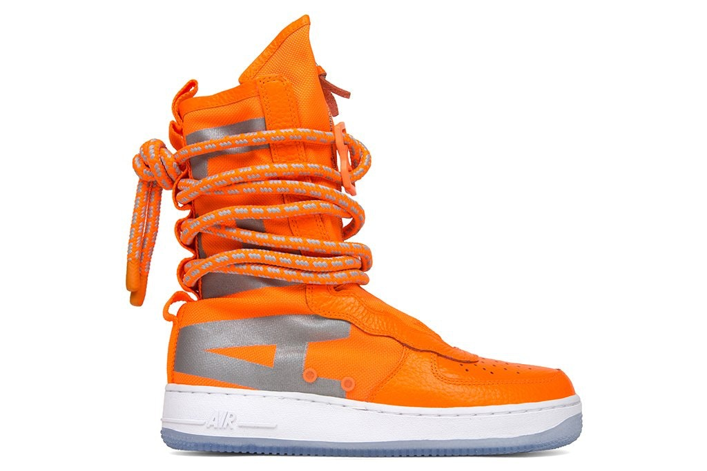 SF Air Force 1 High Total Orange