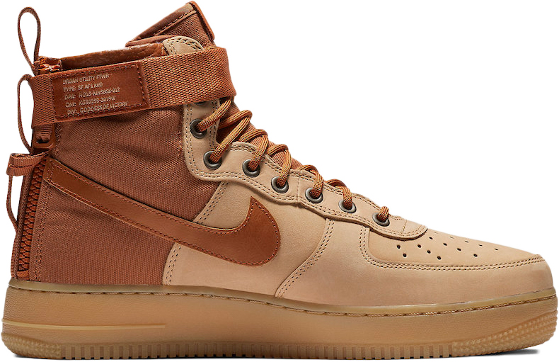 Nike SF Air Force 1 Mid Premium Praline