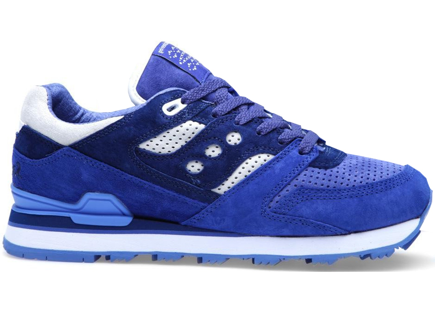 4ca820850588 Sell. or Ask. Size --. View All Bids. Saucony Courageous White  Mountaineering Navy