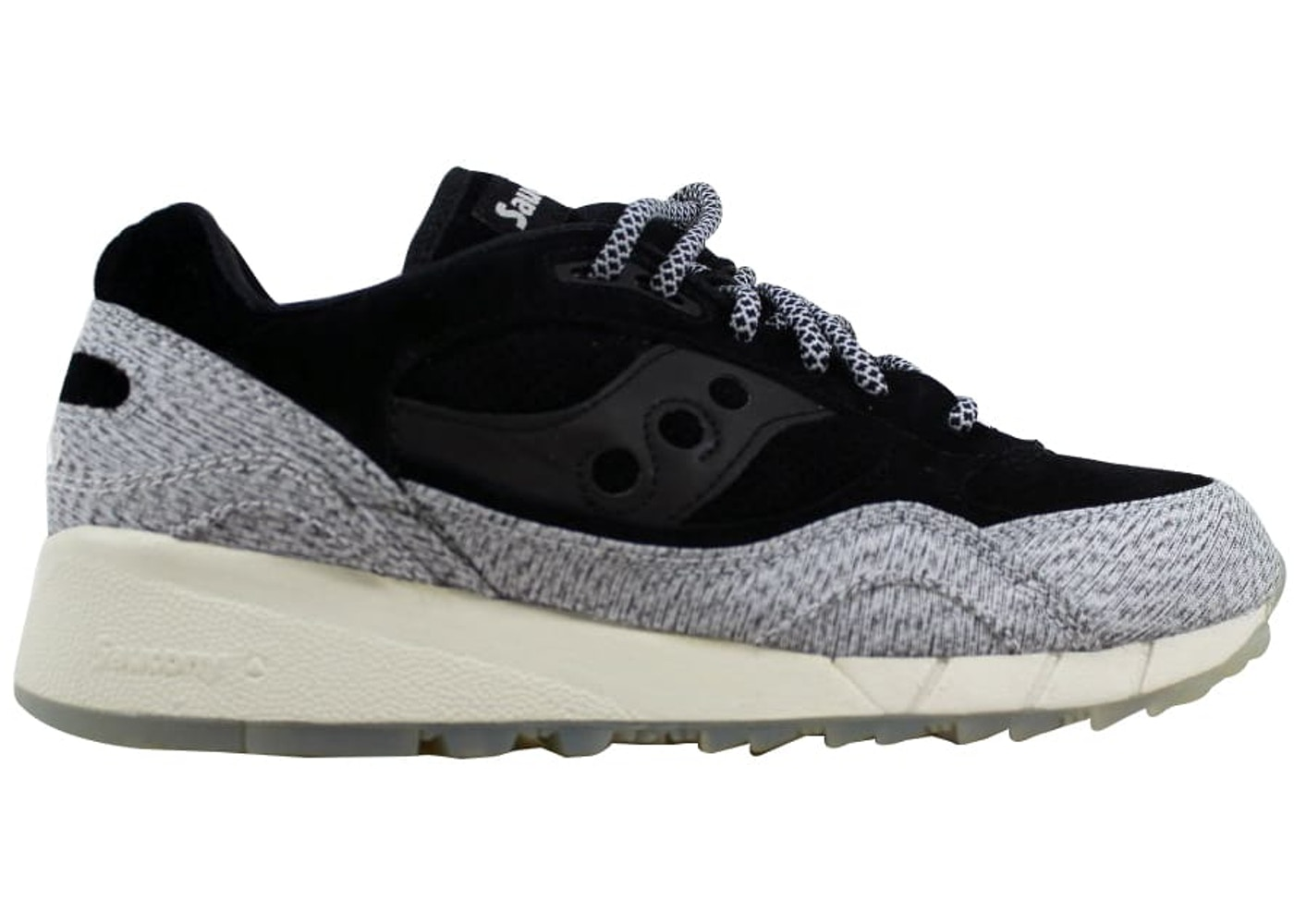 new product c391f 83cbf Saucony Shadow 6000 Black/Grey