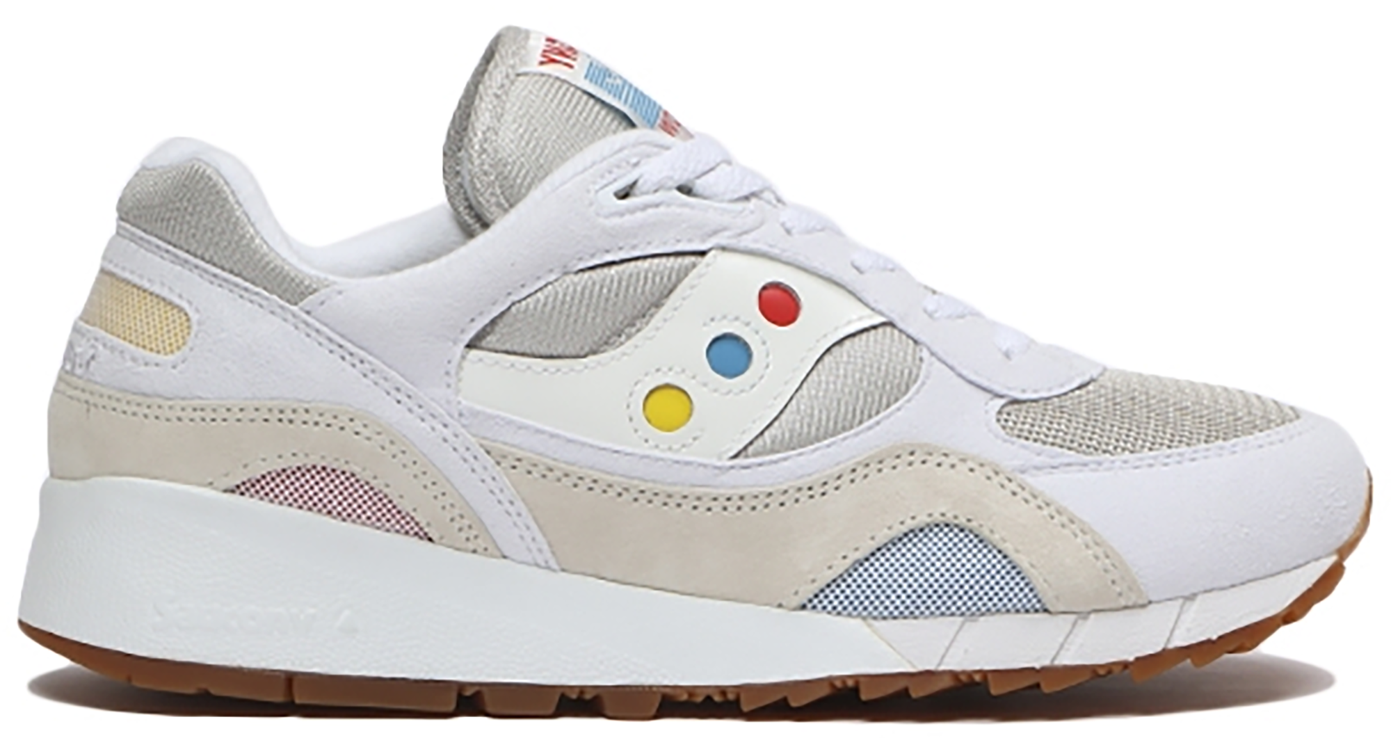 Saucony Shadow 6000 White Multi-Color