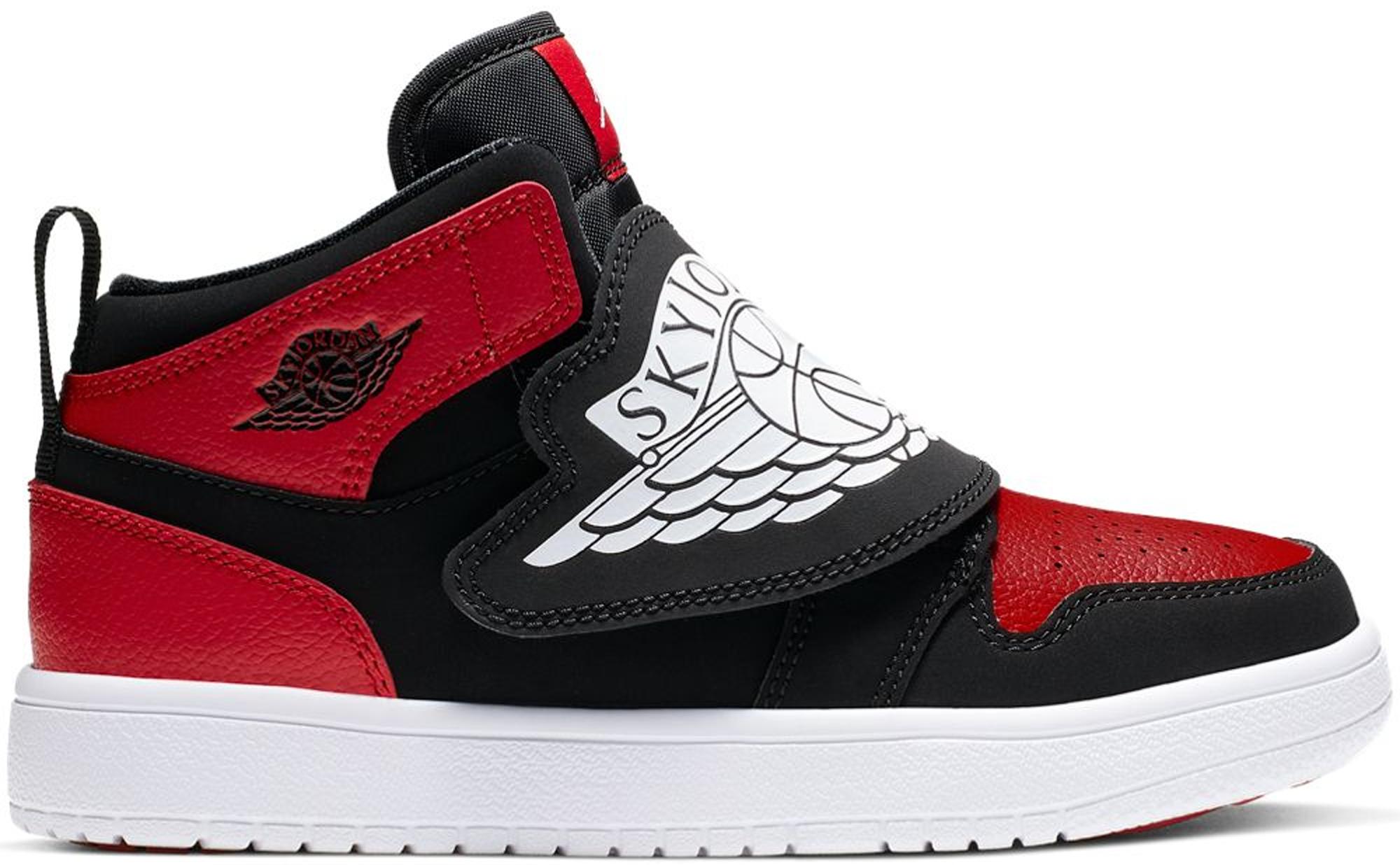 Sky Jordan 1 Bred (PS) - BQ7197-001