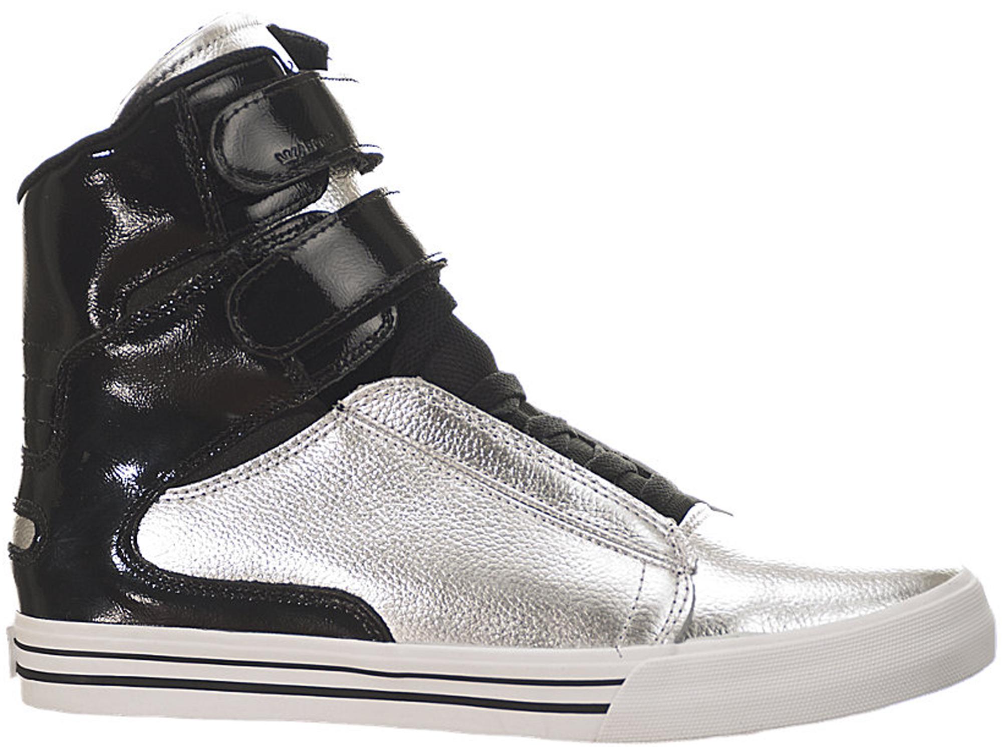 Supra Society 2 Silver Black - S34178